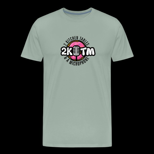 Two Kitchen Tables & A Microphone - Men's Premium T-Shirt
