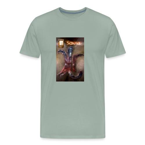Sanaa Rune Cover - Men's Premium T-Shirt