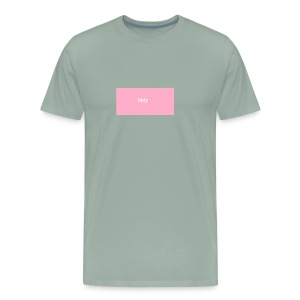 iddy in a pink box - Men's Premium T-Shirt