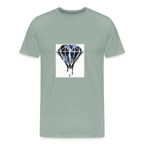 Savage Max101 white long sleve - Men's Premium T-Shirt