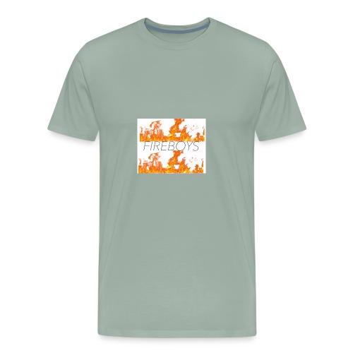 FB FLAME FIRE MERCH - Men's Premium T-Shirt