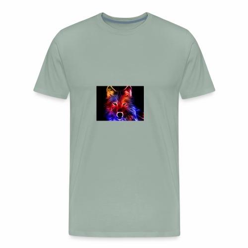 colorful fox - Men's Premium T-Shirt