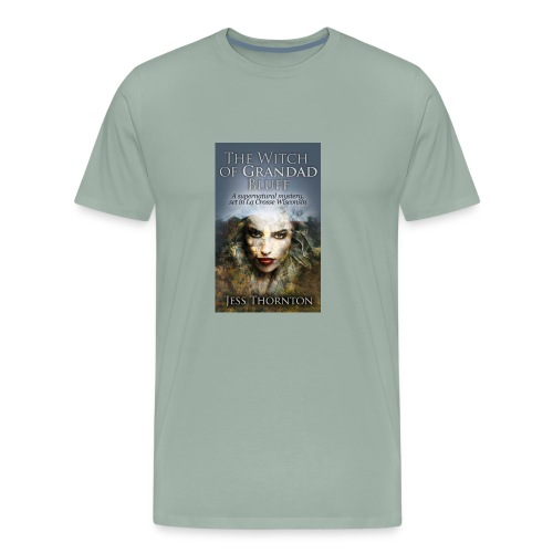 The Witch of Grandad Bluff cover - Men's Premium T-Shirt