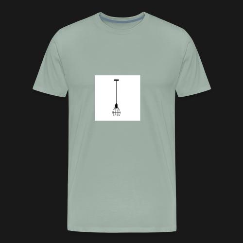 Ellume Design Pendente Meka Preto Base E 27 9183 9 - Men's Premium T-Shirt
