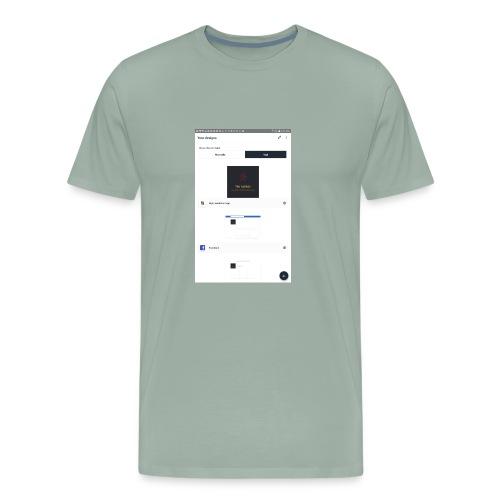 Screenshot 20180521 215009 - Men's Premium T-Shirt