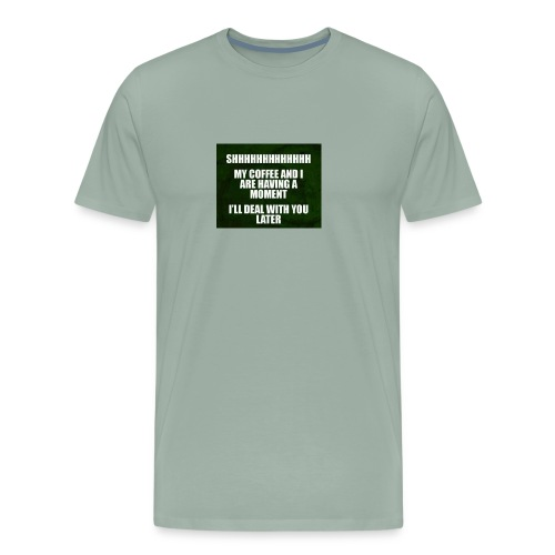 coffee funnY - Men's Premium T-Shirt