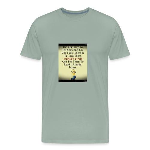 22312eac233ad515db9f8003c494f795 chef funny minio - Men's Premium T-Shirt