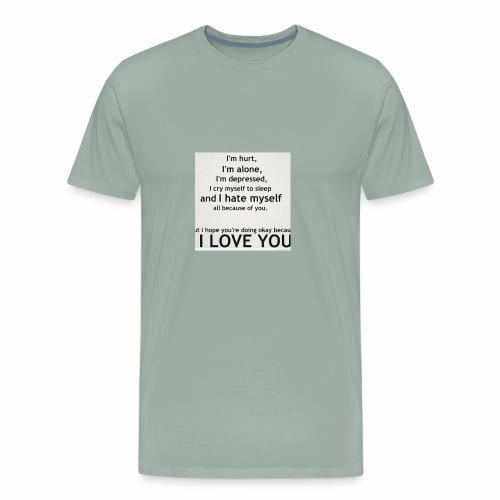 Deep Emotional - Men's Premium T-Shirt