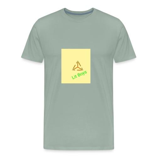 Lit Boys Don't Care merch - Men's Premium T-Shirt