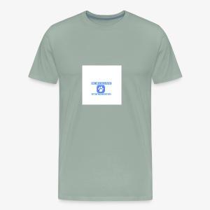 upscale logo airbrush - Men's Premium T-Shirt