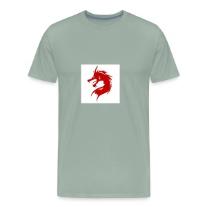 team fire dragon - Men's Premium T-Shirt