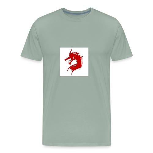 team fire dragon - Men's Premium T-Shirt
