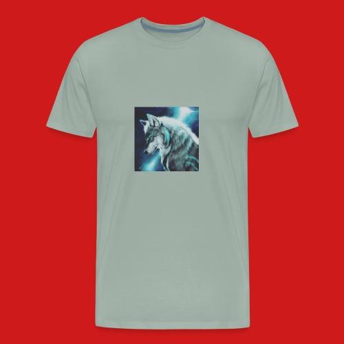 Wolfboy776 Logo - Men's Premium T-Shirt