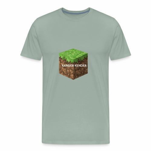 Large Print Block - Men's Premium T-Shirt