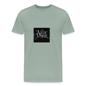 New york logo - Men's Premium T-Shirt