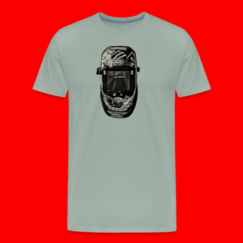 Helmet of a badass - Men's Premium T-Shirt