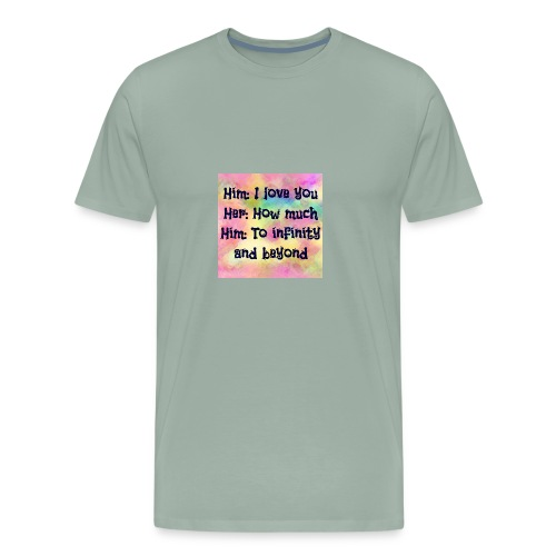 A lifetime love - Men's Premium T-Shirt