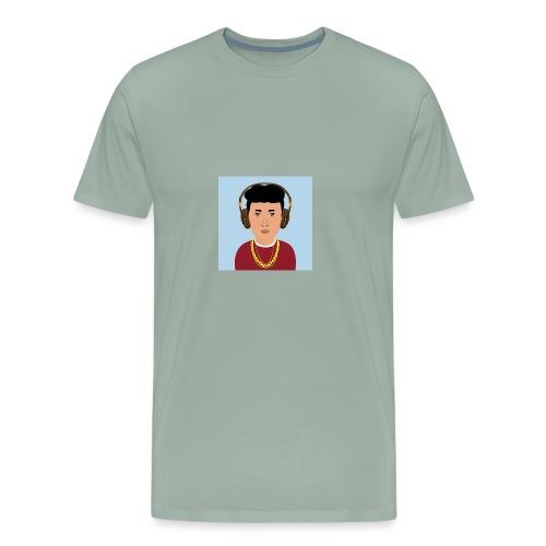 Meddle b - Men's Premium T-Shirt