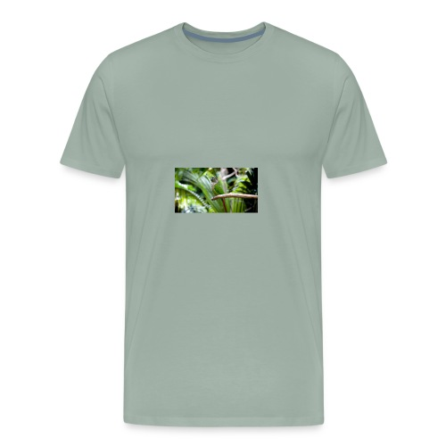 green cheek - Men's Premium T-Shirt