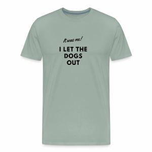 Flyball - It was me (black) - Men's Premium T-Shirt
