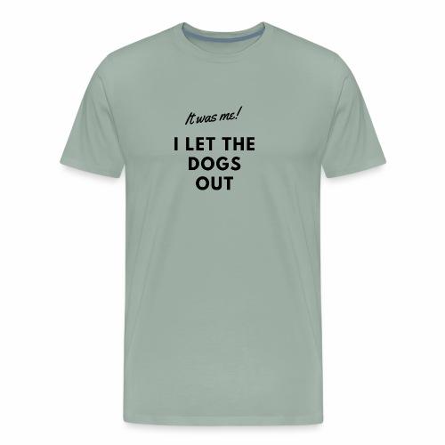 Flyball - It was me (black) - Men's Premium T-Shirt