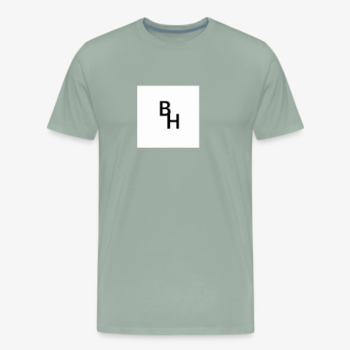 The BlazeHawk15 Logo - Men's Premium T-Shirt
