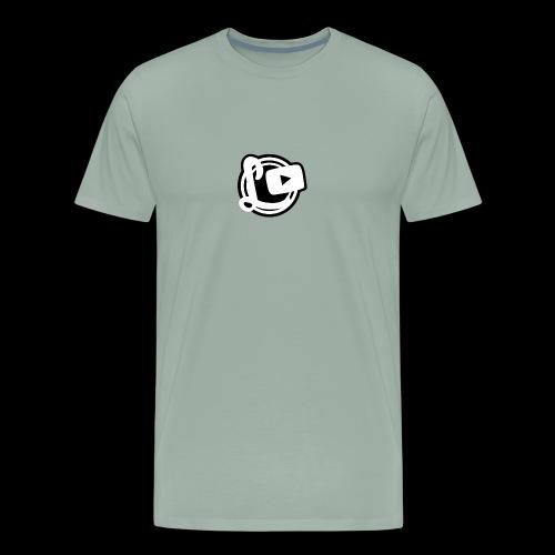 Logotipos Canal Leozzz 2 - Men's Premium T-Shirt