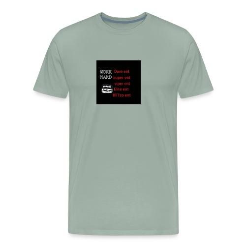 Work hard Ent squad hoodie - Men's Premium T-Shirt