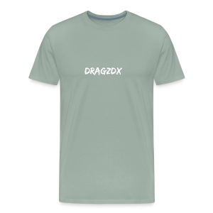 Dragzdx Text logo 1 - Men's Premium T-Shirt