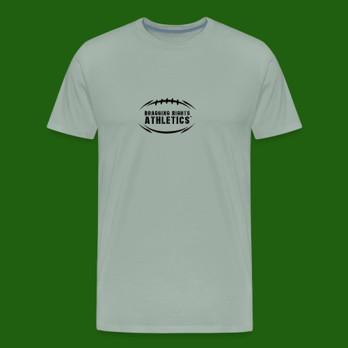 BRA Football Outline - Men's Premium T-Shirt