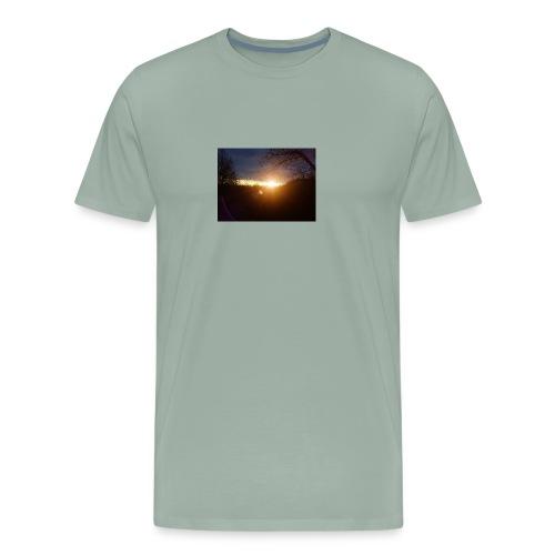 Sunrise morning. - Men's Premium T-Shirt