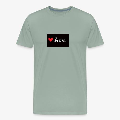 Heart Anal - Men's Premium T-Shirt