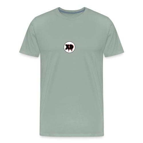 XD in Cirlce - Men's Premium T-Shirt