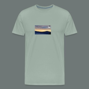 JAG RR Crater Lake before sunset - Men's Premium T-Shirt