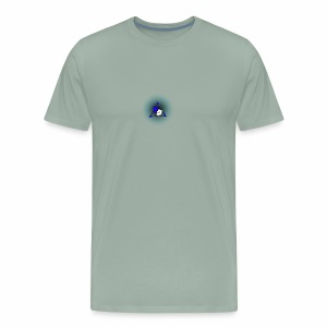 Peak logo tran - Men's Premium T-Shirt