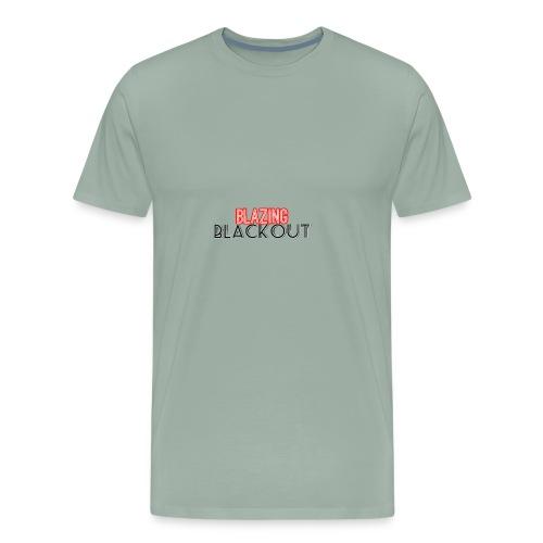 Blazing Blackout ™ - Men's Premium T-Shirt