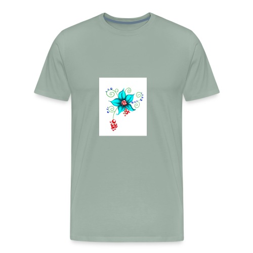 Blooms - Men's Premium T-Shirt