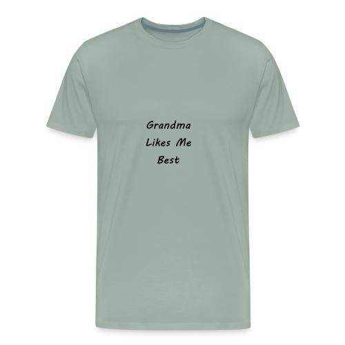 GrandMa Likes me Best - Men's Premium T-Shirt