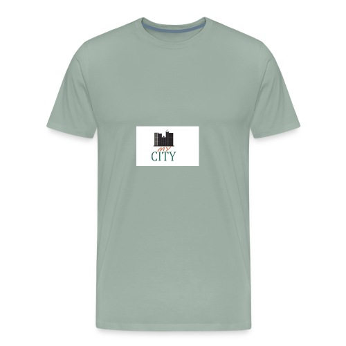 my city - Men's Premium T-Shirt