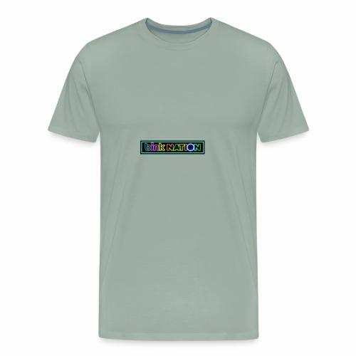 Bink Nation Neon Logo Jacket - Men's Premium T-Shirt