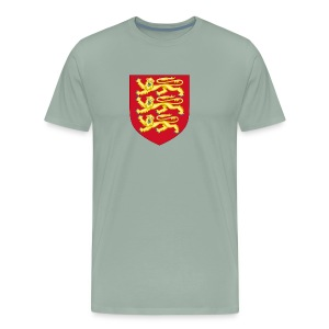 Royal Arms of England - Men's Premium T-Shirt