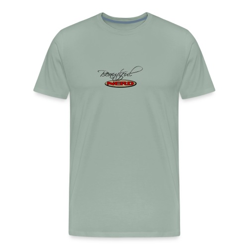 beautiful nerd - Men's Premium T-Shirt