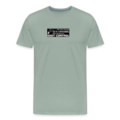 gun control - Men's Premium T-Shirt