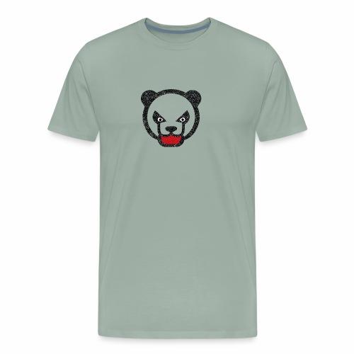 Mad panda bear - Men's Premium T-Shirt