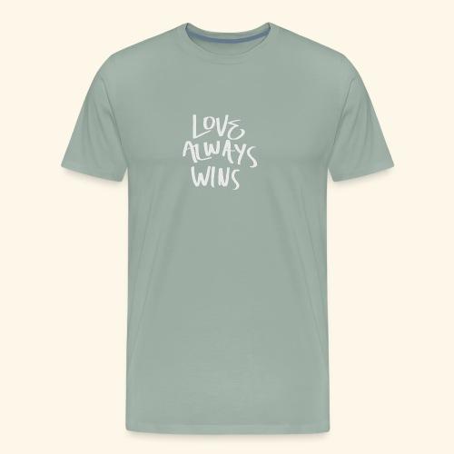 Love Always Wins Swagg - Men's Premium T-Shirt