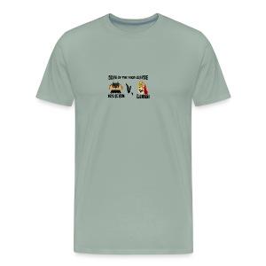 TACO KNIGHT VS SUPER BURRITO - Men's Premium T-Shirt