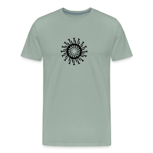 Trumpet Circle - Men's Premium T-Shirt