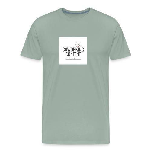 Coworking Content Alliance Tee Shirt - Men's Premium T-Shirt