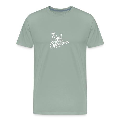 Chill Your Speakers Tshirt - Men's Premium T-Shirt