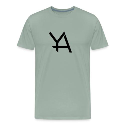 Young Adamant Black Logo - Men's Premium T-Shirt